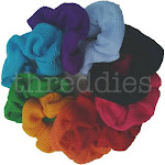 Thermal Scrunchies (Rainbow Assortment) / 9 piece Pack
