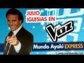Julio Iglesias en La Voz