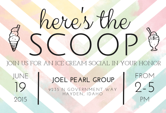 Please Join Us! JPG Ice Cream Social!