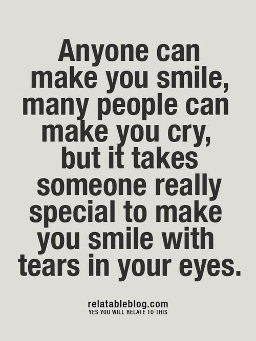 Anyone Can Make You Quotes About Someone Making You Feel Special