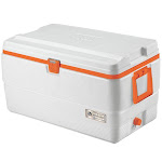 Igloo 72-Quart STX Cooler - White/Orange
