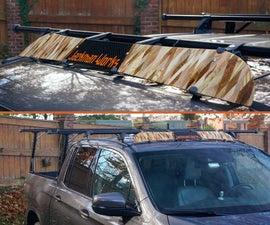 Roof Rack Customization - Wind Deflector & End Caps