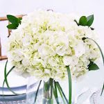Wedding Table Centerpiece White Hydrangea 3 Wholesale by GlobalRose