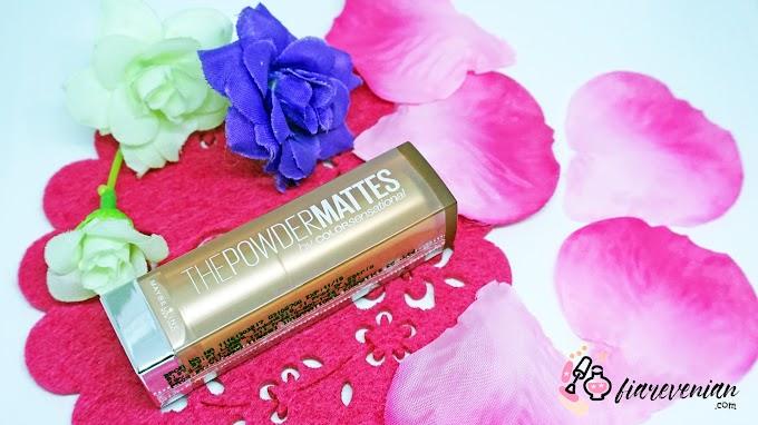Maybelline Powder Mattes: Lipstick Matte Yang Nyaman *