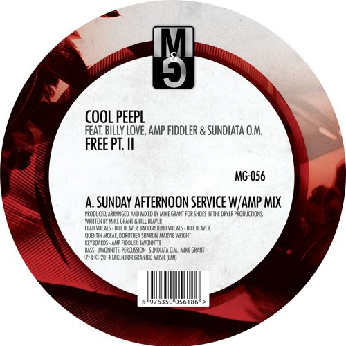 MG-056, Cool Peepl feat. Billy Love, Amp Fiddler, & Sundiatta O.M. - Free pt. II by Moods & Grooves Records
