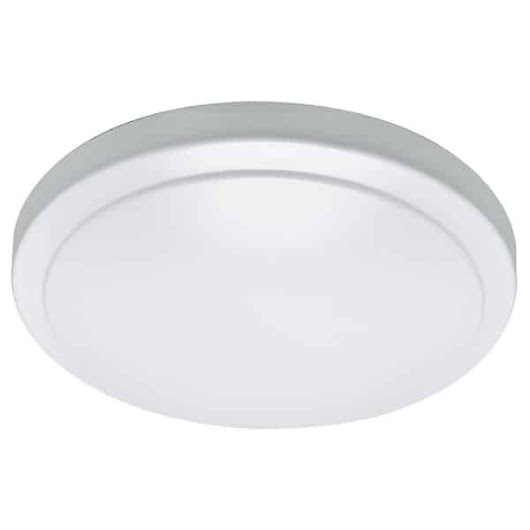 Hampton Bay Wink Compatible 12 in. White LED Smart Color Tunable Flushmount Ceiling Light Manual | Hampton Bay Ceiling Fans Lighting & Patio Furniture Outlet