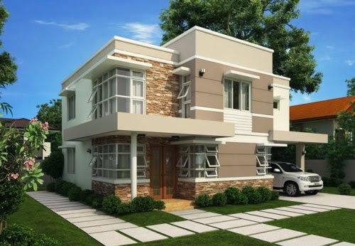 26+ Rumah Minimalis 2 Lantai Warna Kuning PNG - Download ...