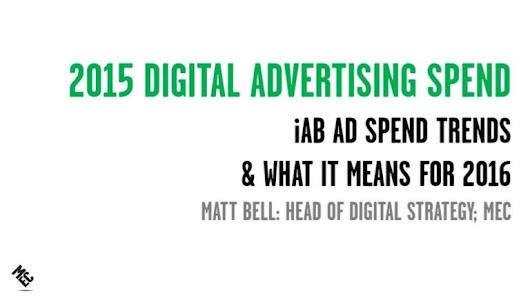 IAB 2015 Advertising Spend Trends: Mobile, Search, Programmatic and D…