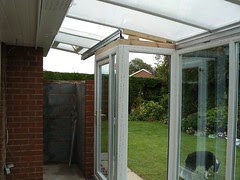 Conservatory Rebuild - Day 10