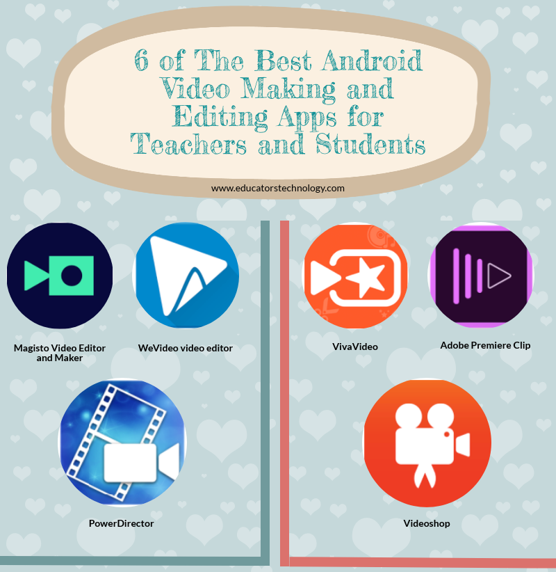 6 of The Best Android Video Making and Editing Apps for Teachers and Students