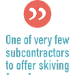 Subcontract Services: Skiving and Roller Burnishing in the UK - AH Garner