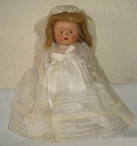 Foto muñeca de Comunión hecha de Terracota en los años 40