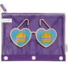Sunglasses Pencil Case - Yoobi , Purple