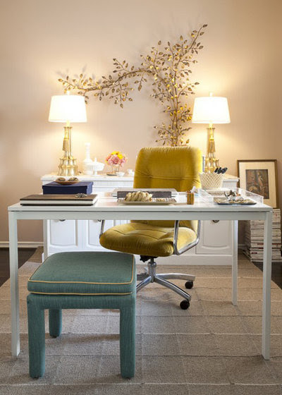 Dream Spaces: Home Offices You'll be Delighted to Work In