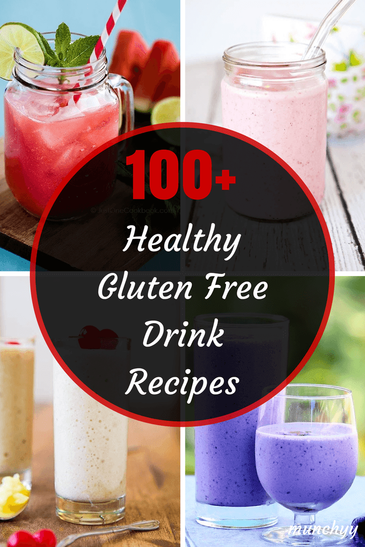 100+ Best Healthy Gluten Free Drink Recipes - Urban Tastebud