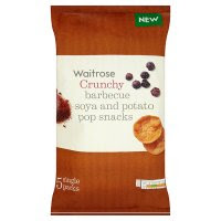 Waitrose Barbecue Soya and Potato Pop Snacks