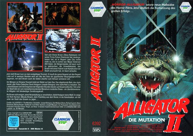 Alligator 2 (VHS Box Art)