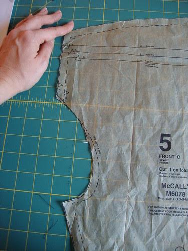 McCall's 6078 in progress