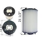 Cartridge Filter Sta-Rite System:2 PLM100 100 sq. ft. 27002-0100S