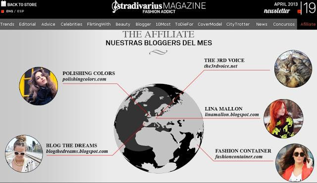 Stradivarius Magazine and Maxfactor