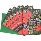Waste Not Paper - Wishing You Happy Holidays Holiday Card - 10 Pack