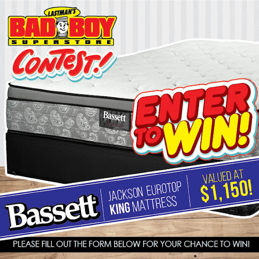 Jackson Euro King Mattress by Bassett