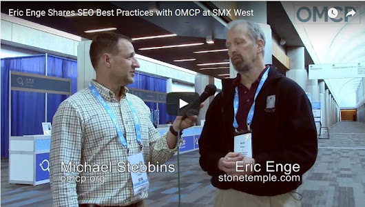 Eric Enge Shares SEO Best Practices with OMCP at SMX West - OMCP