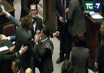 Il questore Dambruoso con la deputata del M5S Loredana Lupo