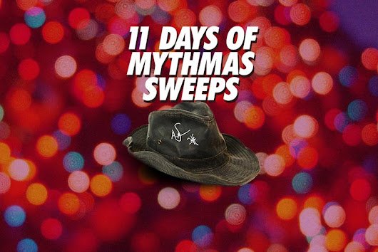 MythBusters 11 Days of MythMas Sweepstakes