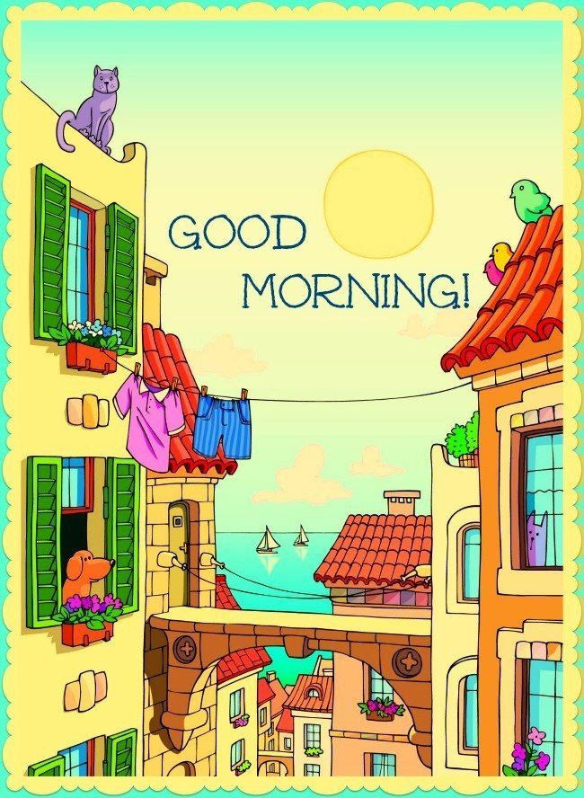 Cartoon Good Morning Pictures Photos And Images For Facebook