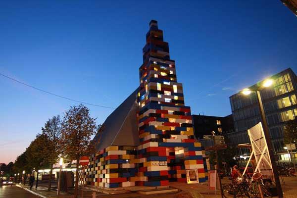 perierga.gr - Μια εκκλησία εξ ολοκλήρου από... Lego!