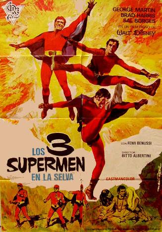 1970 - 3 supermen en la selva
