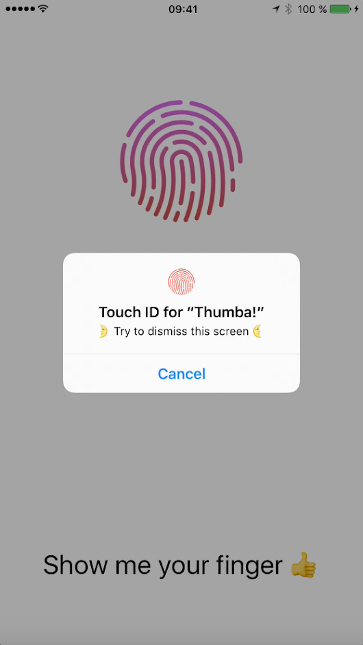 Touch ID Authentication Tutorial for Swift 3 – Dreams Corner