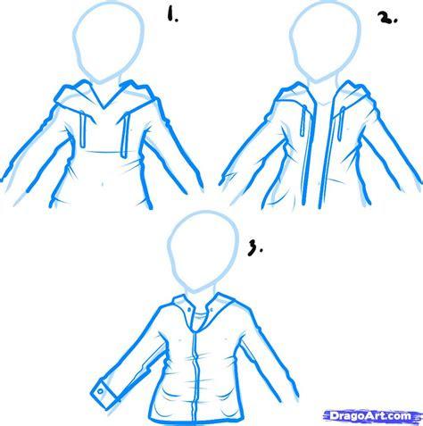 draw  hoodie draw hoodies step  step fashion