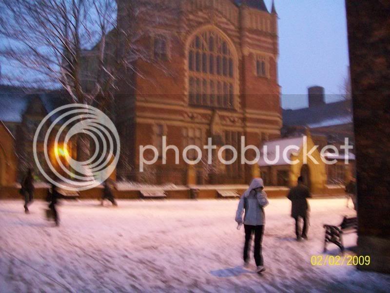 yes we got snow in Leeds….