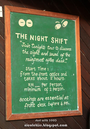 the night shift notice