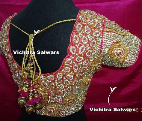 Vichitra Salwars (5)   Designer Blouses   Wedding saree
