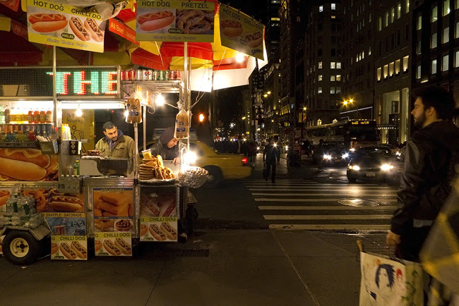 Food cart, nyc