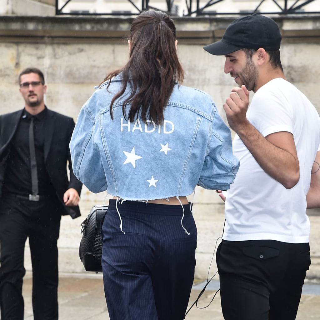 Bella Hadid's Jean Jacket July 2016