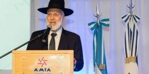 Rabino Chefe da Argentina é agredido