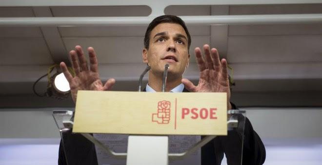 El líder del PSOE, Pedro Sánchez. - EFE