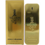 1 Million by Paco Rabanne, 3.4 oz EDT Spray for Men