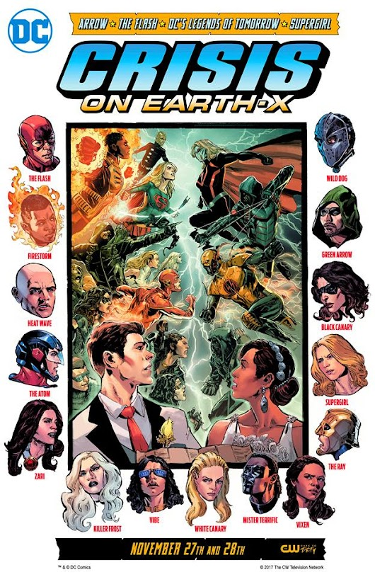 "This Year's DC Superhero Crossover Is ""Crisis On Earth X"""