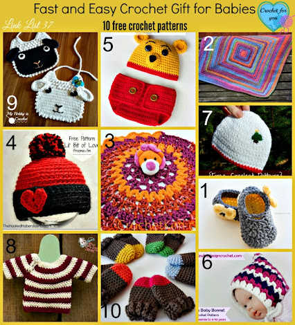 Free Quick And Easy Crochet Gift Patterns : The Crochet Lounge - Community - Google+