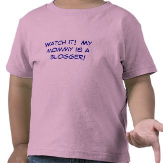 Blogger Tee Shirt For Kids