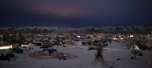 Despite Evacuation Orders, Pipeline Protesters Hunker Down for Winter