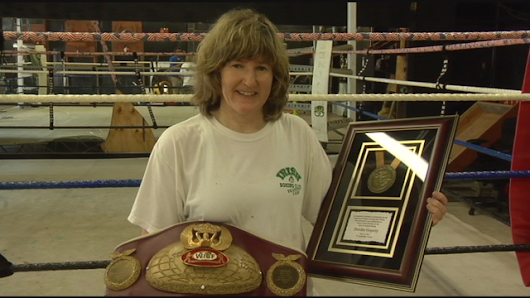 World Class Female Boxer who trained locally inducted into Hall of Fame