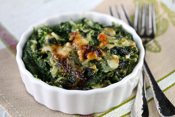 Spinach Gratin | Karen's Kitchen Stories