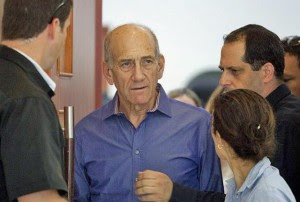 olmert convicted