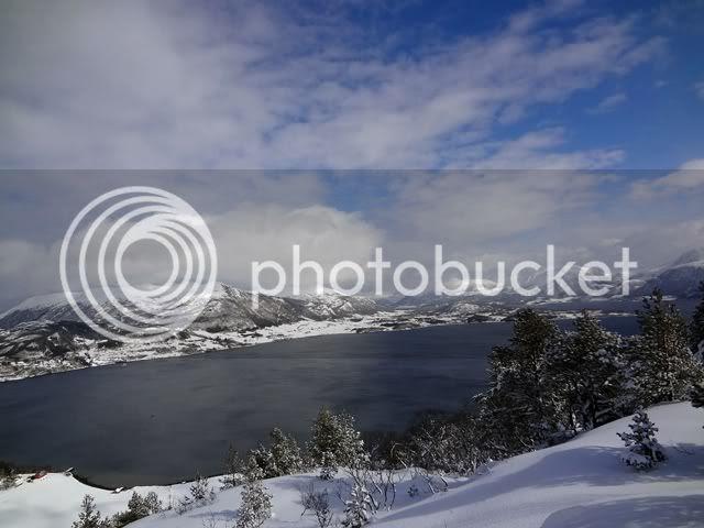 Utsikt mot Averøya
